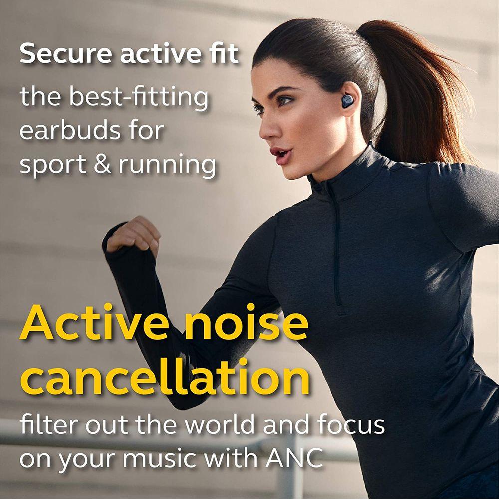 Active Noise Cancellation - Jabra Elite Active 75t True Wireless Earbuds
