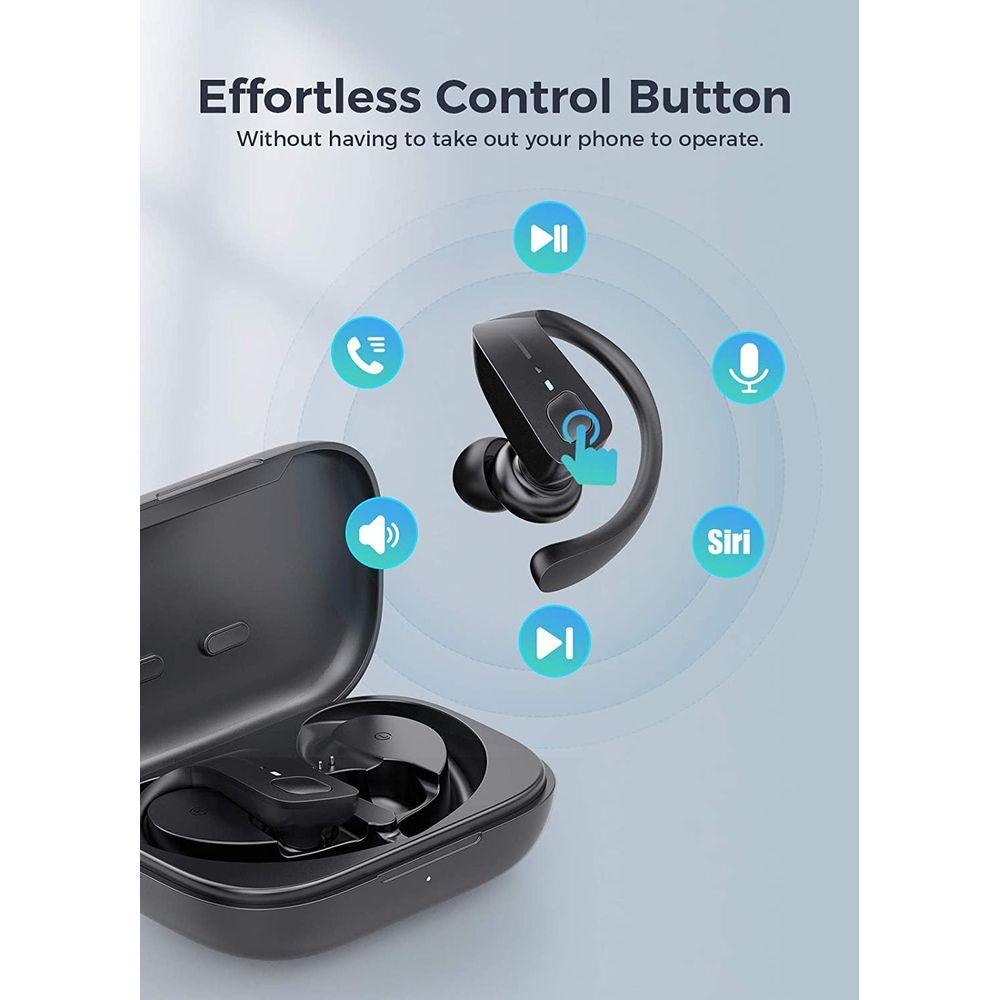 ET1 Earbuds Effortless Control Button