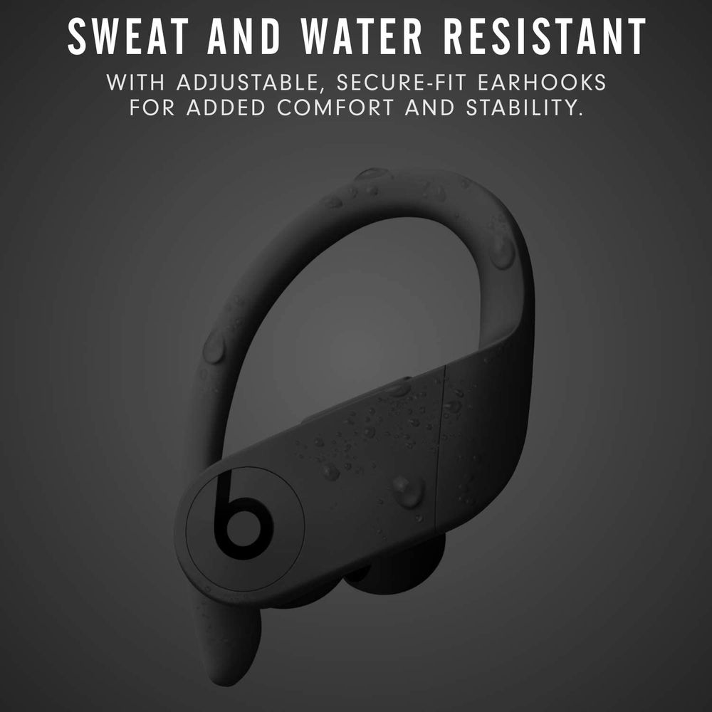 Sweat and Water resistant